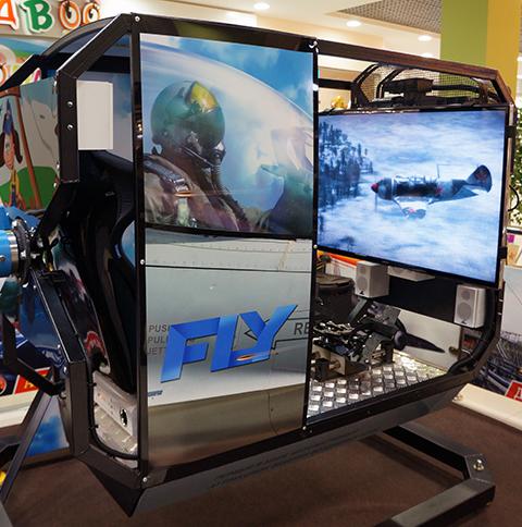 Виртуальное пилотирование Fly Motion (18 минут) от poletomania