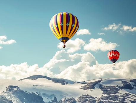 Полет на воздушном шаре (2 взрослых + 2 ребенка) от poletomania