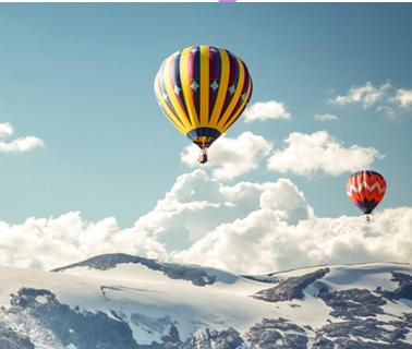 Полет на воздушном шаре (1 взрослый + 3 ребенка)