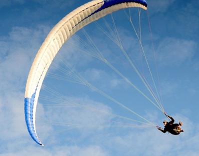 Парный полет в тандеме с инструктором от poletomania