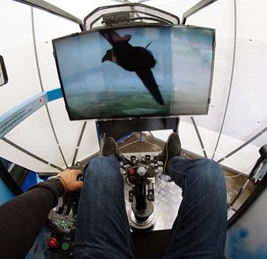 Виртуальное пилотирование Fly Motion (12 минут) от poletomania