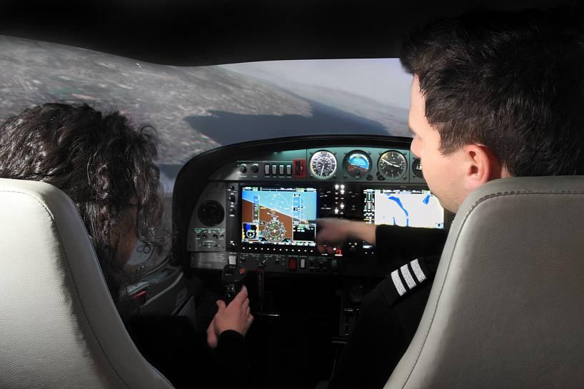Подарок управление самолетом тренажер 4
