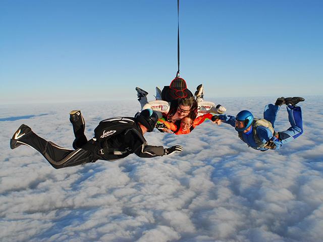 Прыжок с парашютом в тандеме (с фото/видео) от poletomania