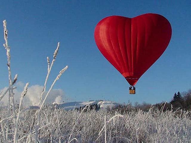 Индивидуальный полет для двоих «Экстрим + Сердце» от poletomania