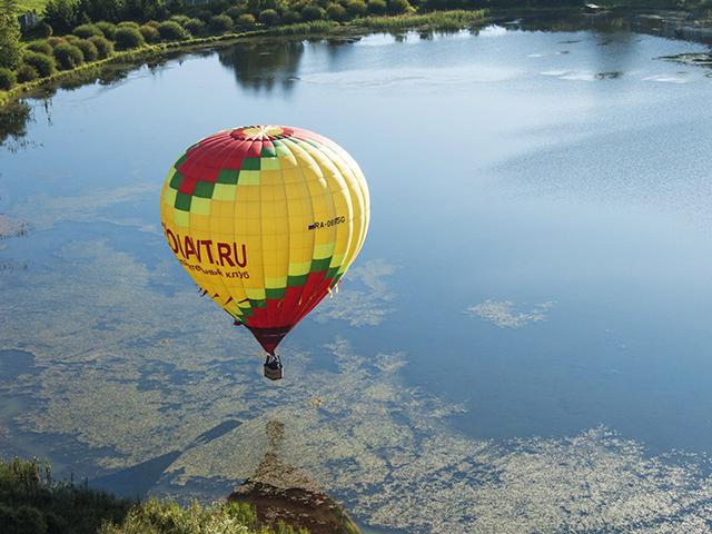 Полет на воздушном шаре (1 взрослый + 1 ребенок) от poletomania