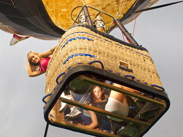 """Индивидуальный полет на воздушном шаре """"Экстрим"""" для двоих + видео от poletomania"""