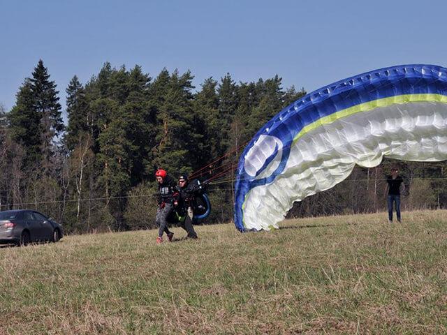 Полет на параплане для двоих (с видеосъемкой) от poletomania