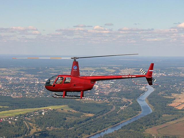 Обзорный полёт на вертолете (60 минут) от poletomania