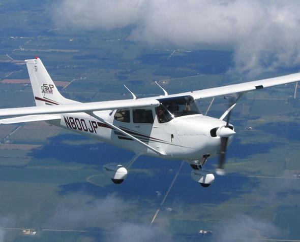 40 минут полета на Tecnam P2006 Twin от poletomania