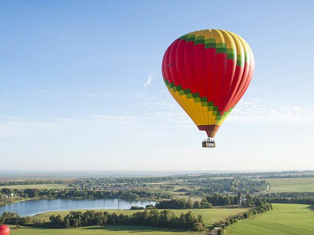 Полет на воздушном шаре (для четверых) от poletomania