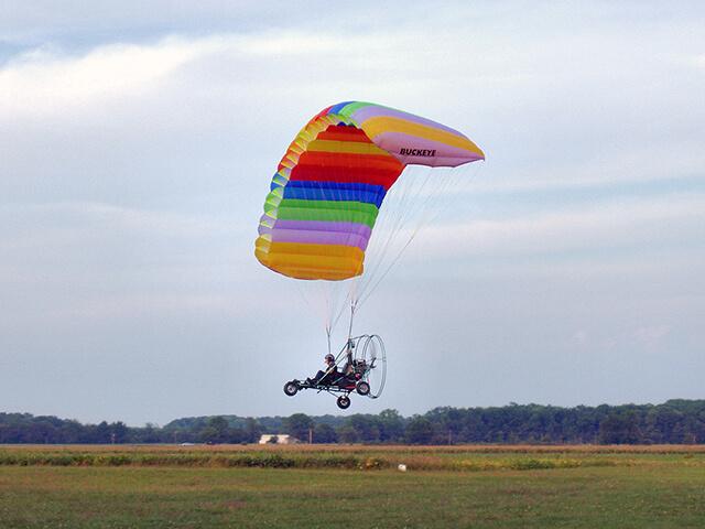 Полет на паралёте или дельталёте (15 минут) от poletomania