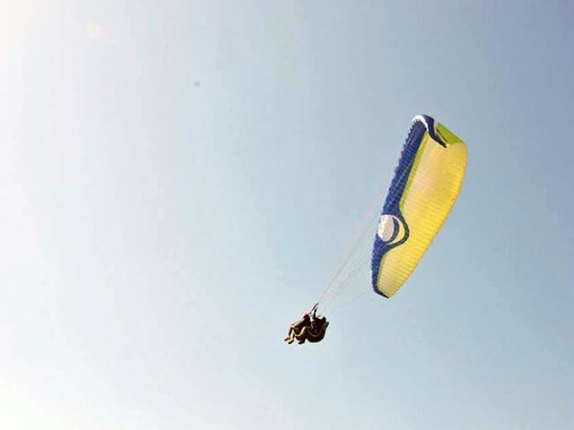 Парный полет на параплане и парамоторе от poletomania