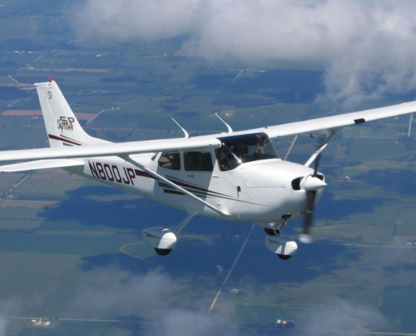 40 минут полета на Tecnam P2002 Sierra от poletomania
