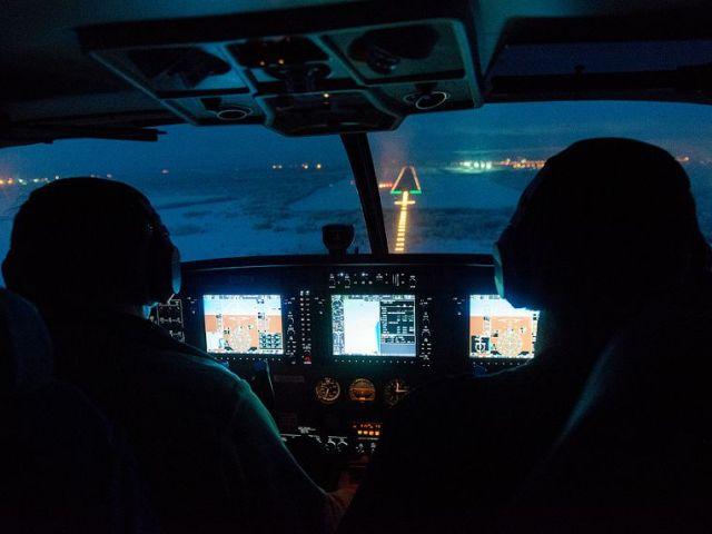 """Программа """"Ночной полет"""" на вертолете Eurocopter 350 (45 мин.) от poletomania"""