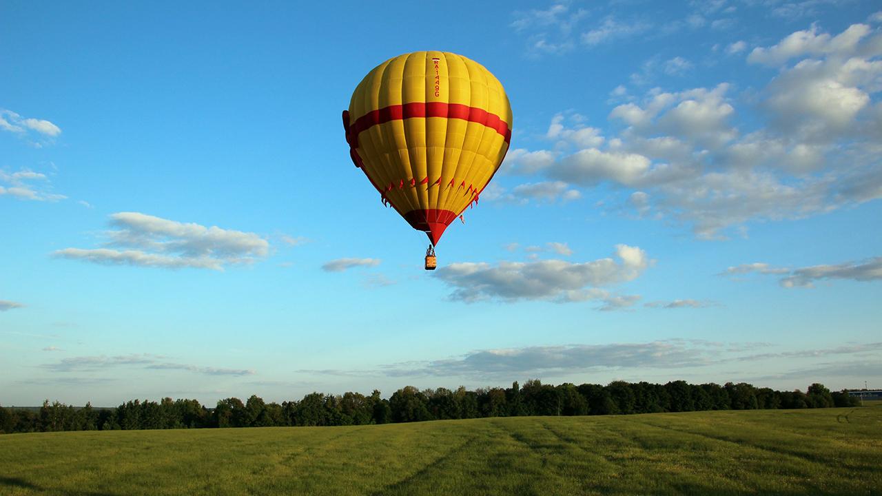 Индивидуальный полет на воздушном шаре (для троих) от poletomania