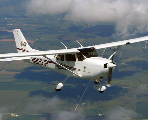 Полет на Cessna-182 (40 мин.) от poletomania