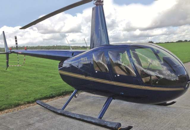 Обзорный полёт на вертолете Robinson R44 (30 минут) от poletomania