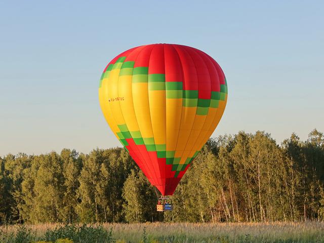 Полет на воздушном шаре (для троих) от poletomania